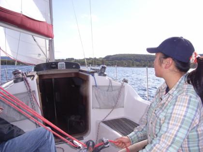 Ausbildung des Segel-Grundkurses
